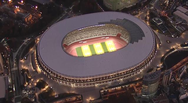 东京奥运会主场馆竣工,场馆内利用自然风降温