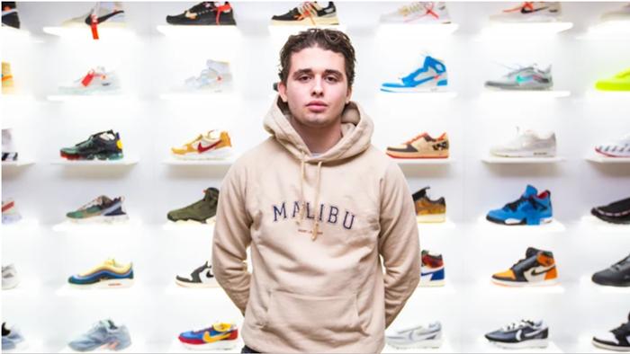 凭借稀有球鞋交易,17岁少年月收入超2万英镑的秘密