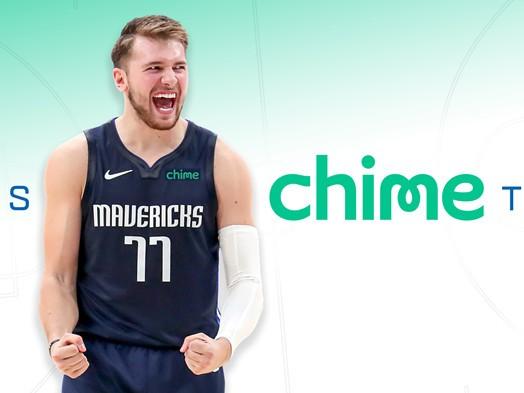独行侠队与手机银行服务商Chime签订球衣广告合同,合作期限为3-5年