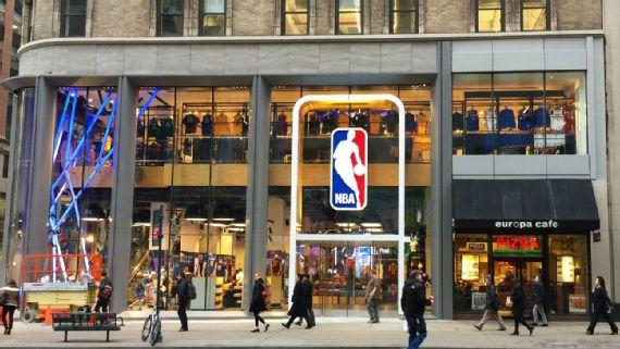 NBA商店疫情期间拖欠房租,遭起诉并要求赔偿约127万美元