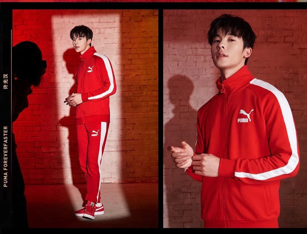 许光汉成为彪马品牌代言人,凭借电视剧《想见你》走红