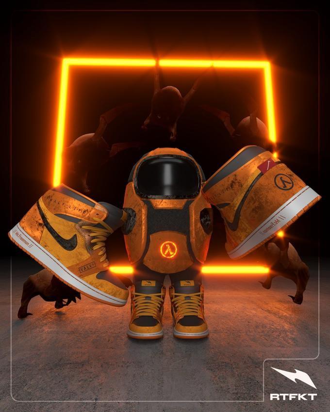 万物皆可NFT,一双虚拟球鞋都卖到5000美元了