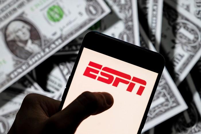 ESPN打算向体育博彩公司出让品牌授权,多年期协议要价30亿美元起