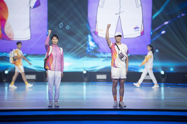 杭州亚运会倒计时一周年,361°杭州亚运会官方体育服饰正式发布