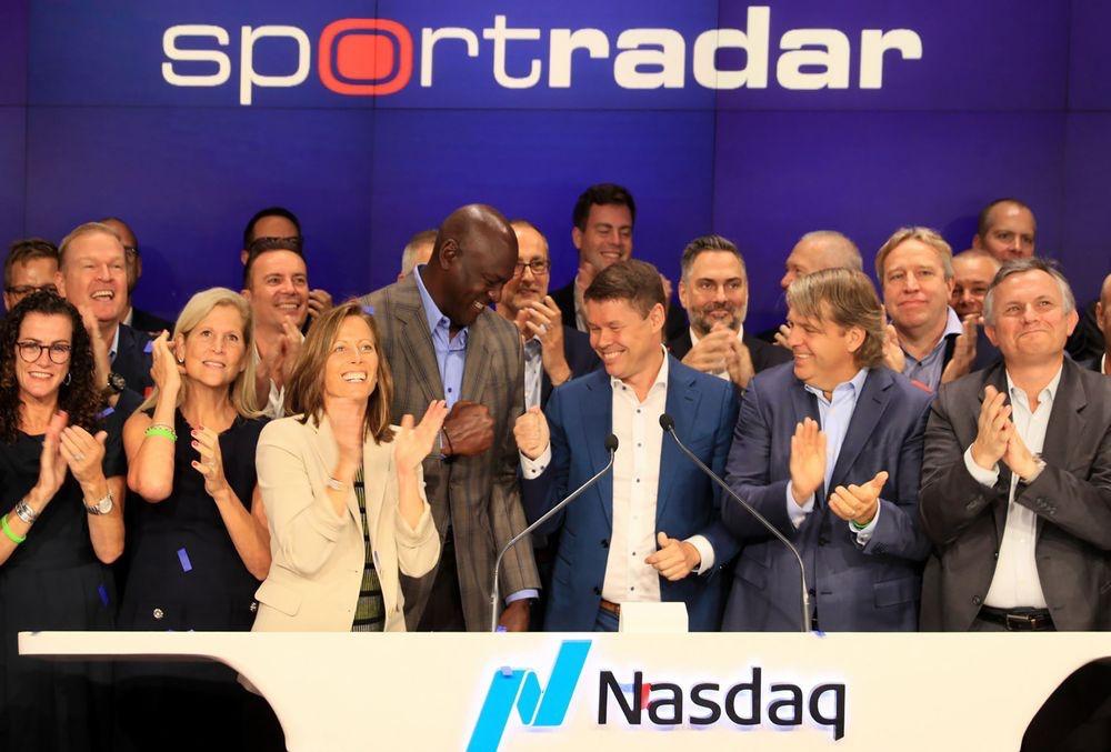 体育数据公司Sportradar 纳斯达克上市,首日破发跌幅达7.22%